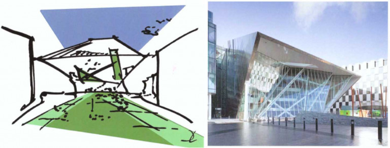 Năm 2010, một công trình nữa của Libeskind được xây dựng ở Dublin Docklands (Ireland)