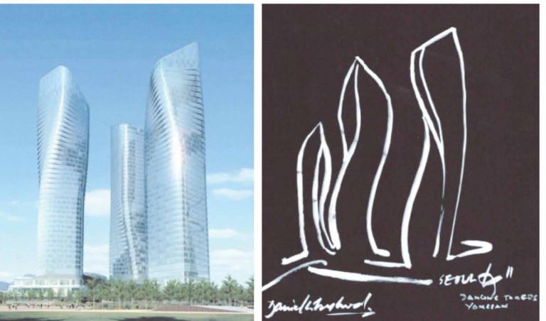 Nhóm ba công trình cao tầng gọi là Dan Towers